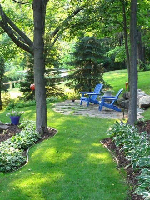 Outdoor Landscape Sitting La Belle Jardin DIY Garden Sitting Areas