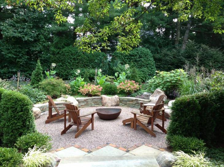 Outdoor Landscape Sitting 21 Garden Landscaping Designs Decorating Ideas