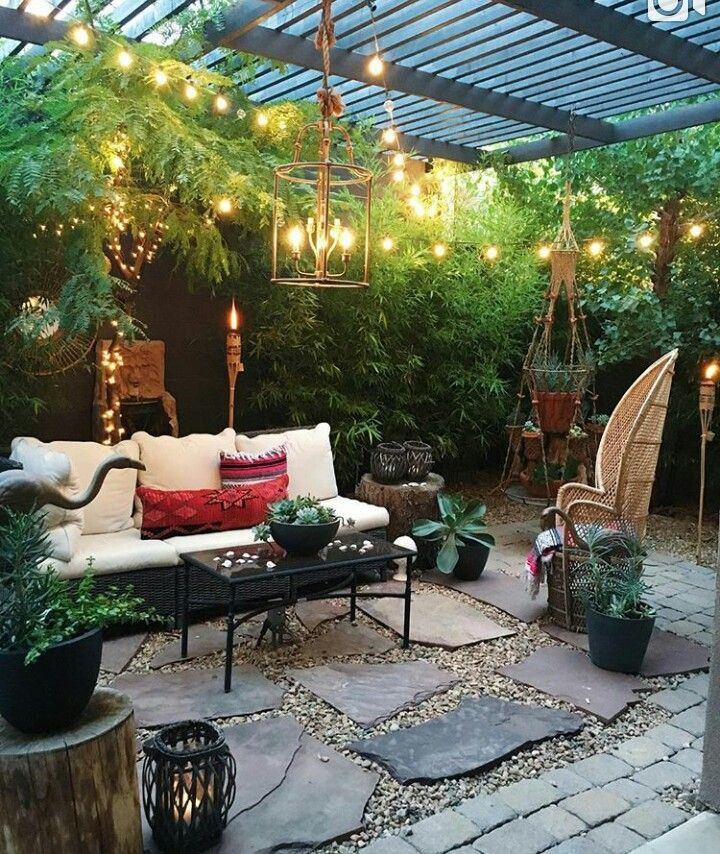 Outdoor Landscape Sitting Outdoor sitting area
