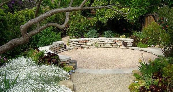 Outdoor Landscape Sitting 30 Distinctive Backyard Design Concepts