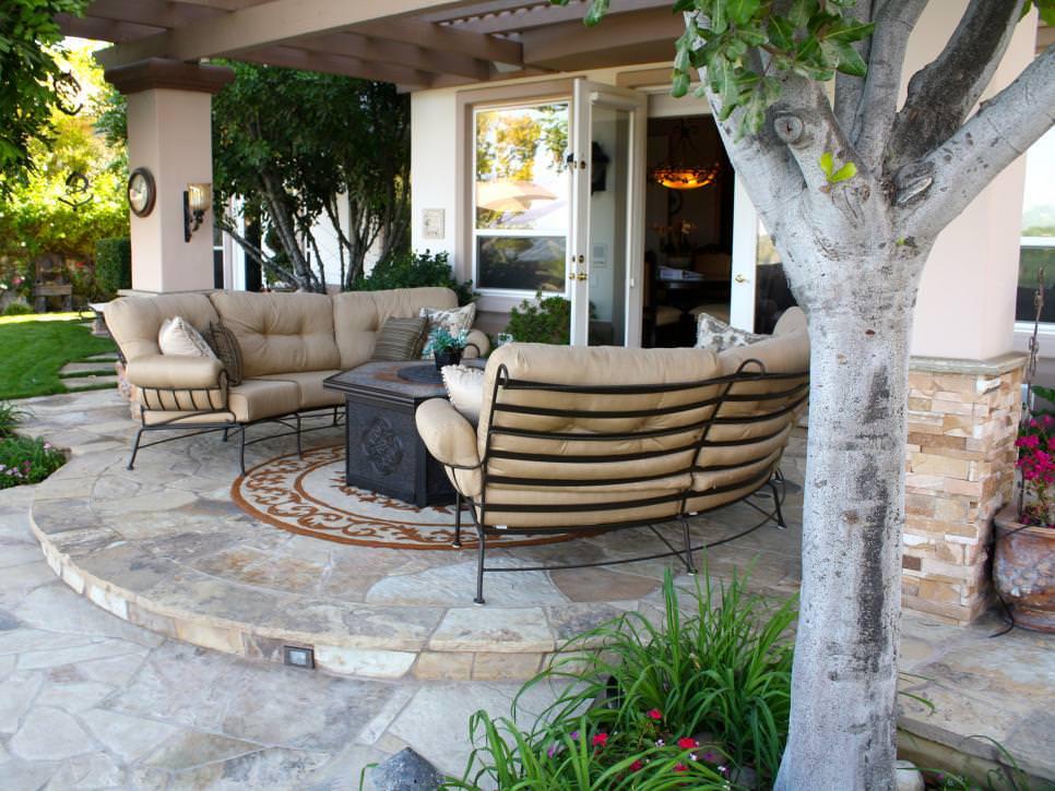 Outdoor Landscape Sitting 30 Patio Designs Decorating Ideas