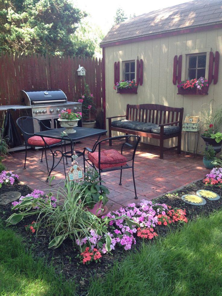 Outdoor Landscape Sitting Best 25 Backyard sitting areas ideas on Pinterest