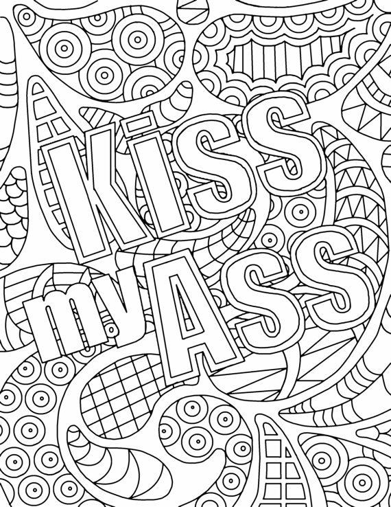 The 23 Best Ideas for Adult Coloring Pages Curse Words ...