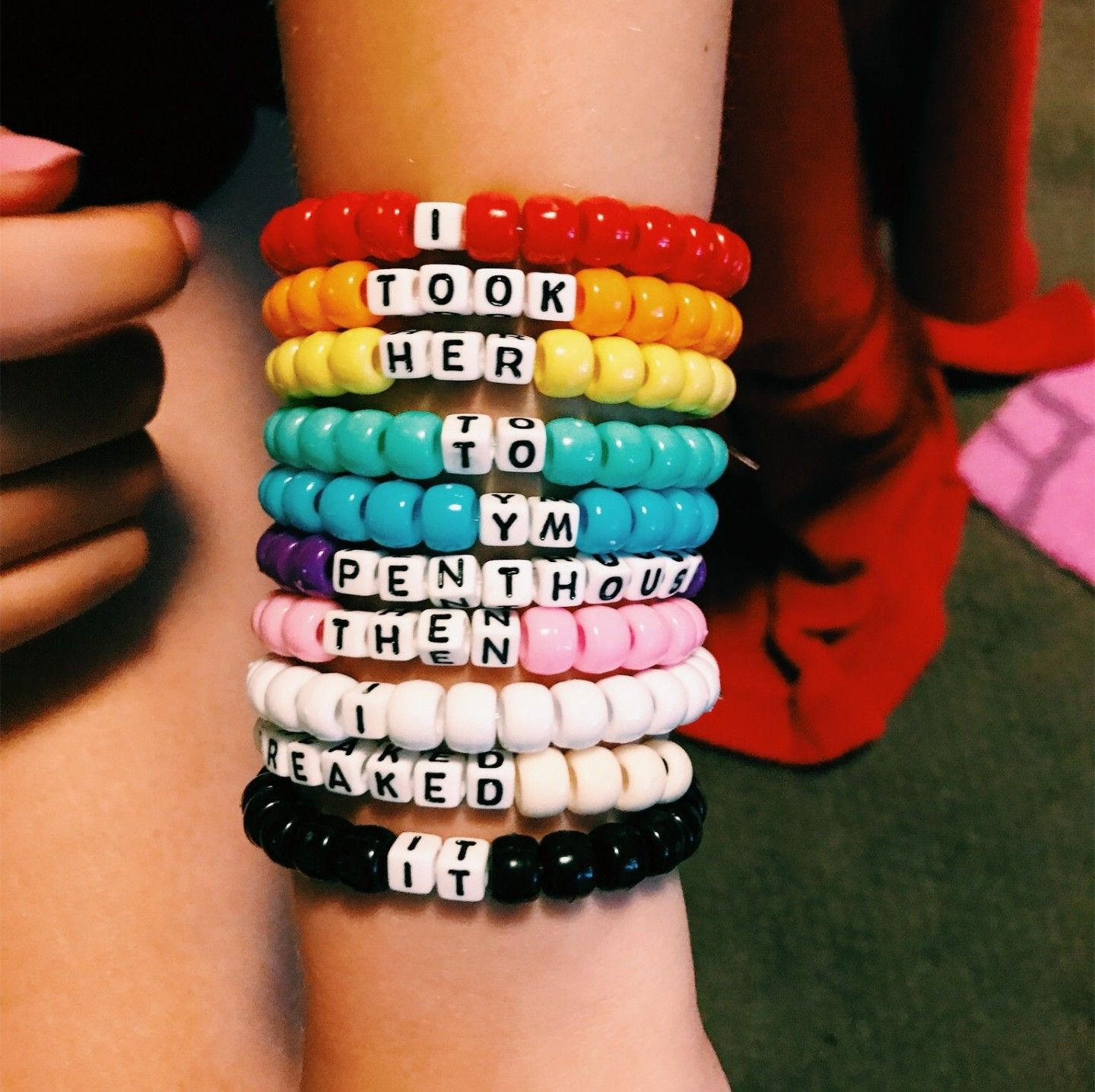Anklet With Words pinterest yourgirlkin