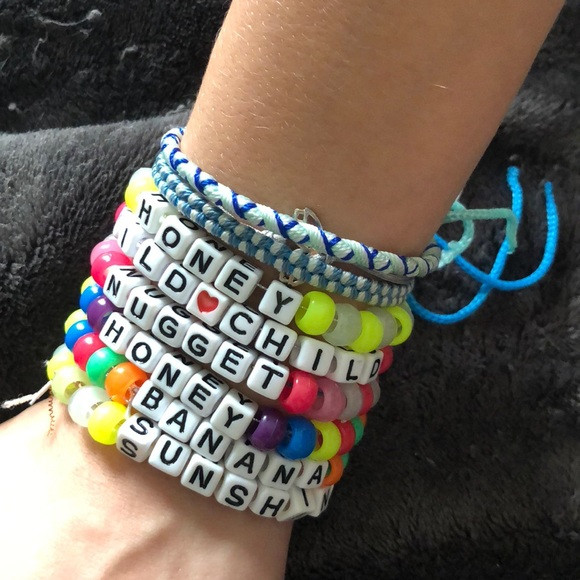 Anklet With Words Jewelry