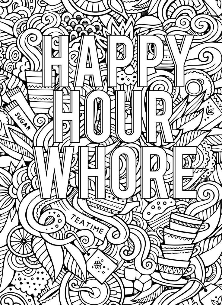 23 Ideas for Coloring Pages for Adults Cuss Words - Home ...