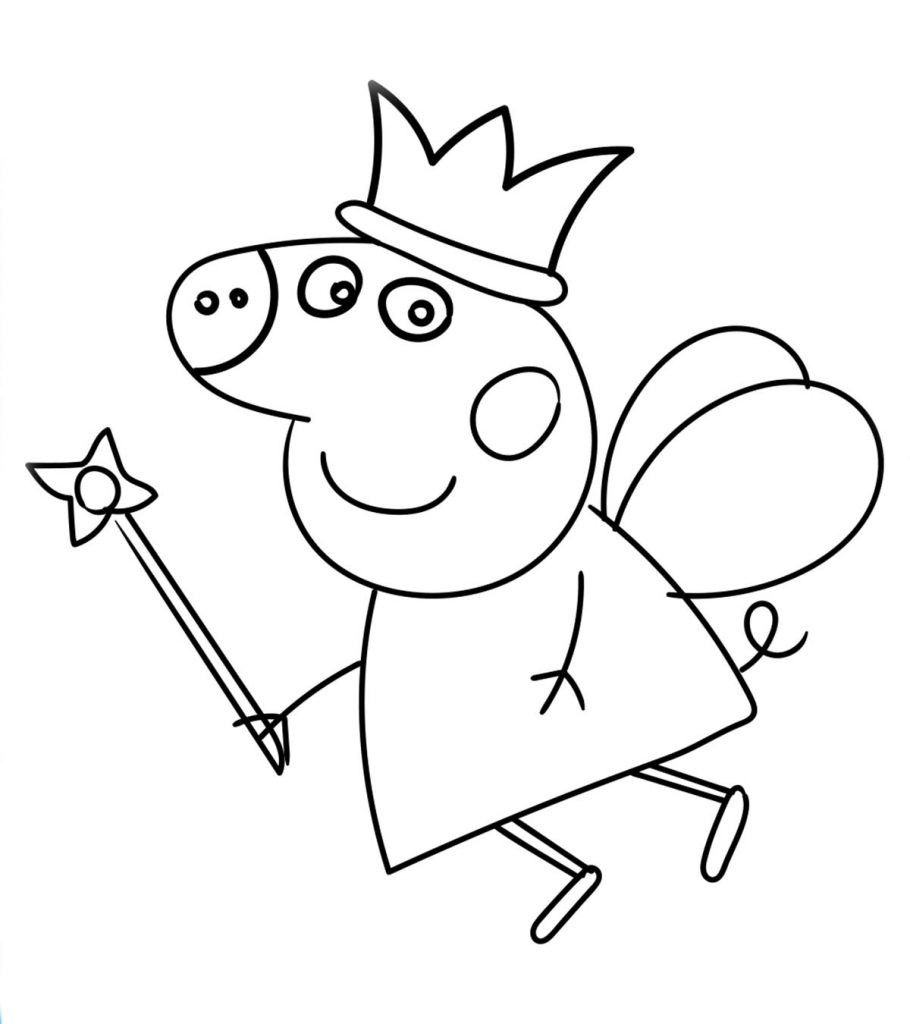 25 Best Coloring Pages for Kids Peppa Pig - Home, Family ...
