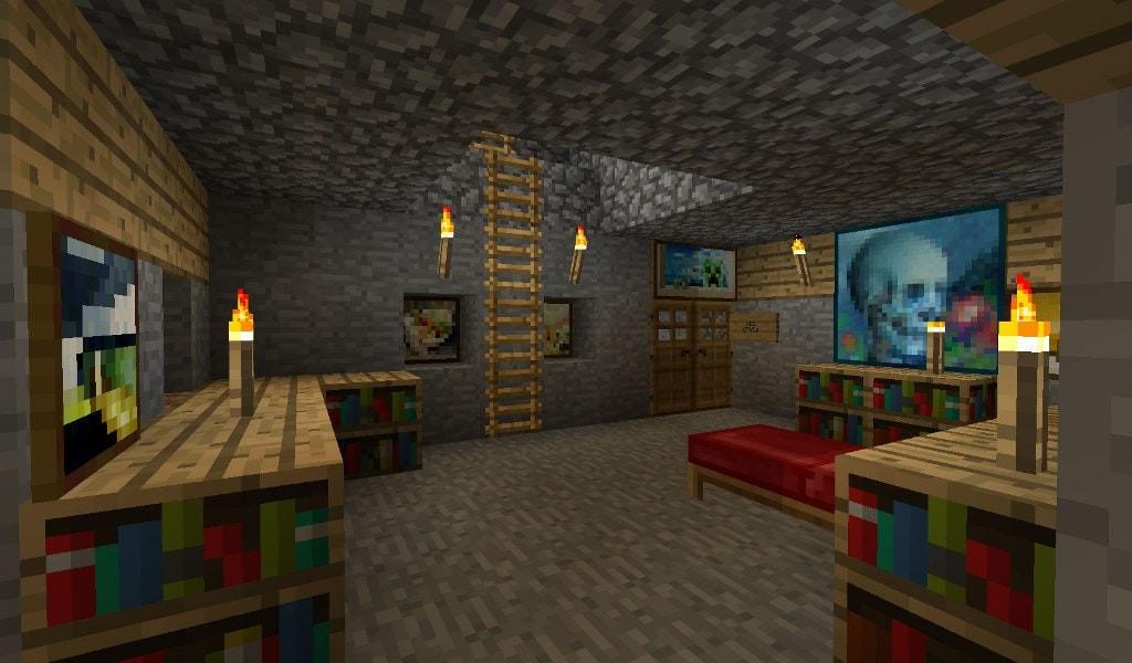 35 inspirational minecraft bedroom wallpaper  home